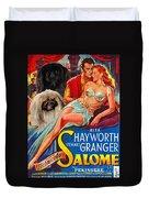 Pekingese Art - Salome Movie Poster Duvet Cover