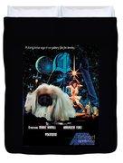 Pekingese Art - Star Wars Movie Poster Duvet Cover