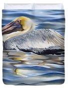 Pelican At Cedar Point Duvet Cover
