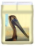 Pelican Bill Duvet Cover