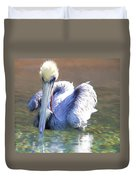 Pelican Blue Duvet Cover