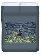 Pelican Floater Duvet Cover