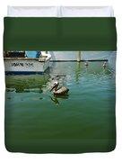 Pelican John 3/16 Boat Duvet Cover