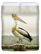 Pelican Poise Duvet Cover