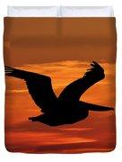 Pelican Profile Duvet Cover