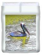 Pelican Reflections Duvet Cover