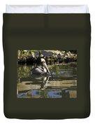 Pelican Reflected Duvet Cover