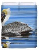 Pelican Ripples Duvet Cover