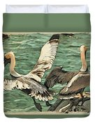 Pelican Take Off Two Duvet Cover