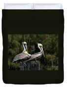 Pelican Threesome Duvet Cover