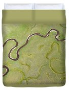 Pelican Valley Abstract Duvet Cover