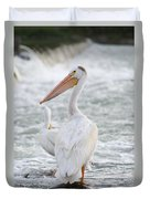 Pelican Watch Duvet Cover