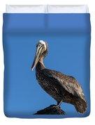 Pelican Watch Duvet Cover