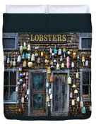 Pemaquid Lobster Shack Duvet Cover