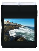 Pemaquid Point Lighthouse 1 Duvet Cover