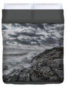 Pemaquid Seas Duvet Cover