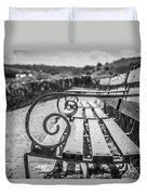 Pembroke Bench  Duvet Cover