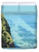 Pembrokeshire Cliffs Duvet Cover