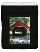 Pemigewasset River Bridge Duvet Cover