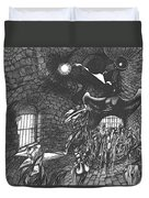 Pen And Ink World 5 Duvet Cover