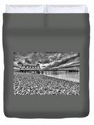 Penarth Pier 2 Mono Duvet Cover