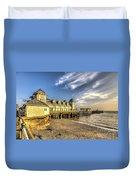 Penarth Pier Dawn 2 Duvet Cover