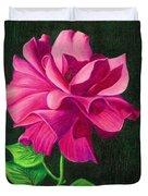 Pencil Rose Duvet Cover