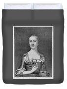 Penelope Barker (1728-1796) Duvet Cover