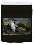 Penguin Ballet... Duvet Cover