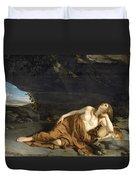 Penitent Mary Magdalene Duvet Cover
