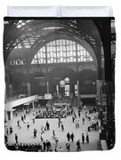 Penn Station Nyc 1957 Duvet Cover