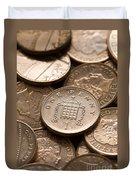 Pennies Sterling Full Frame Duvet Cover