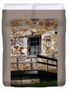 Pennsylvania Field Stone Duvet Cover