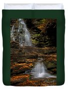 Pennsylvania Waterfalls Duvet Cover