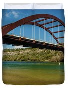 Pennybacker 360 Bridge, Austin, Texas Duvet Cover