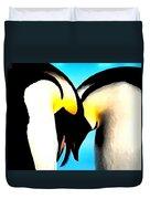 Penquin Love Dance Duvet Cover
