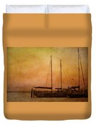 Pensacola Harbor Duvet Cover