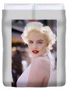 Beauty Of Marilyn Monroe Duvet Cover