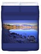 Penticton Reflections Duvet Cover