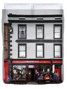 People At A Restaurant, Mccarthys Bar Duvet Cover