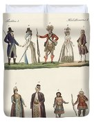 People From Europe Duvet Cover