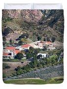 Pepperdine University On A Hill Duvet Cover