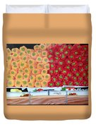Peppers Red And Yellow Duvet Cover