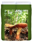 Peppery Bolete Duvet Cover