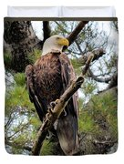 Perched After The Hunt Duvet Cover