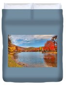 Perfect Autumn Day Duvet Cover