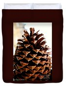 Perfect Pinecone Duvet Cover