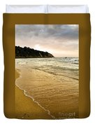 Perfect Sunset Beach Duvet Cover