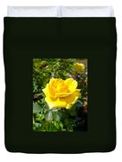 Perfect Yellow Rose Duvet Cover
