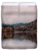 Perfectly Cloudy Lake Duvet Cover